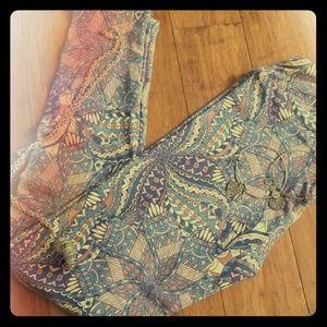 One size lularoe leggings new w tags